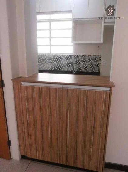 Apartamento À Venda Com 1 Dormitório Com 40m² Ao Lado Do Balão Do Castelo No Jardim Chapadão Em Campinas Sp - Ap0256