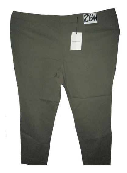 Pantalon Verde Army Jeans Skiny Talla 26w (46) Who What Wear