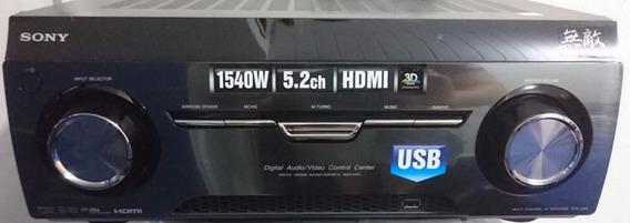 Receiver Sony Muteki 5.2 1540 Rms 3d Usb Arc Hdmi Novo