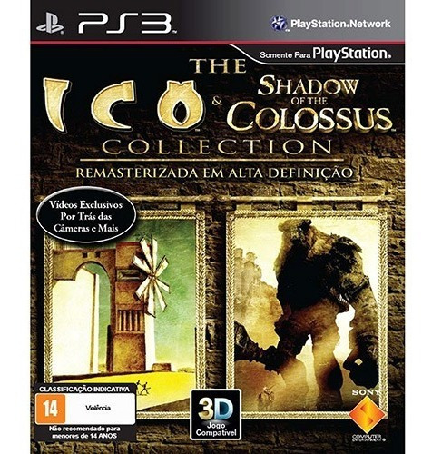 Ico E Shadow Of The Colossus Ps3