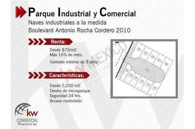 Bodega, Nave Industrial A La Medida En Renta, Bodega En Renta, Construccion A La Medida.