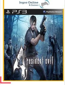 Ps3 Resident Evil 4 Psn Mídia Digital Cod Jogo