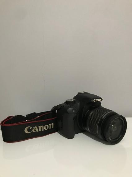 Canon T1i + Lente 18-55mm + Todos Os Acessórios