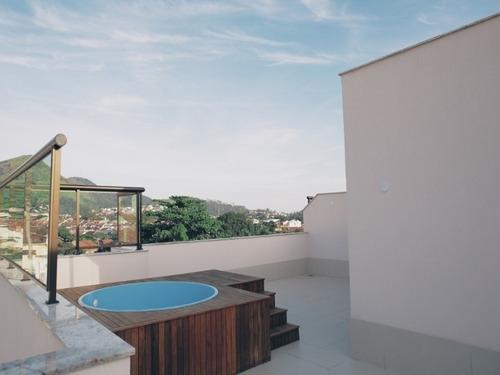 Aluga Cobertura Duplex Com 3 Suítes Na Rua Ituverava, Freguesia. - Co00015 - 32164355