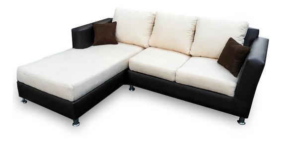 Sala Esquinera Escuadra Minimalista Moderna Lounge Salas