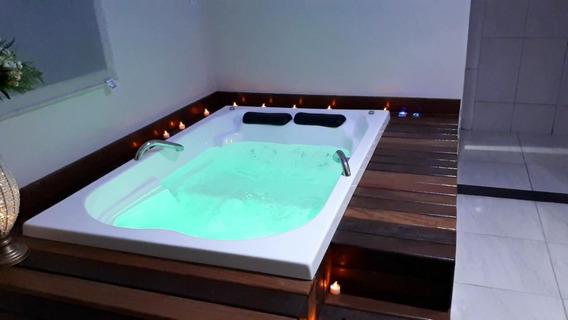 Banheira De Hidro +aquecedor+ Luzes Mega Promoção. 14 Jatos