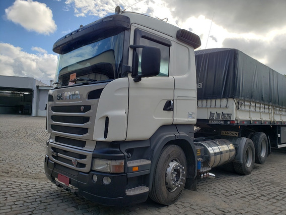 Scania R420 A 6x2 Ano 2011 C/ Retarder = Volvo Mb 440 2544