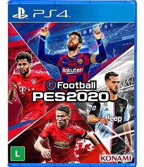 Football Pes 2020- Pes 20 Ps4+ Patch Brinde Enviamos Agora!