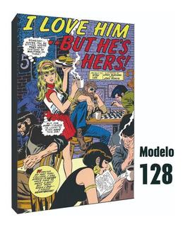 Cuadro De Comics De Hamburguesas - Ideal Para Bares