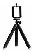 5 Mini Tripé Flexível Para Câmeras Nikon Canon Celular Gopro