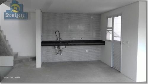 Sobrado Com 3 Dormitórios À Venda, 174 M² Por R$ 759.000,01 - Jardim - Santo André/sp - So0707