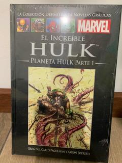 Libro Marvel Salvat Cómics El Increíble Hulk Planeta Hulk 1