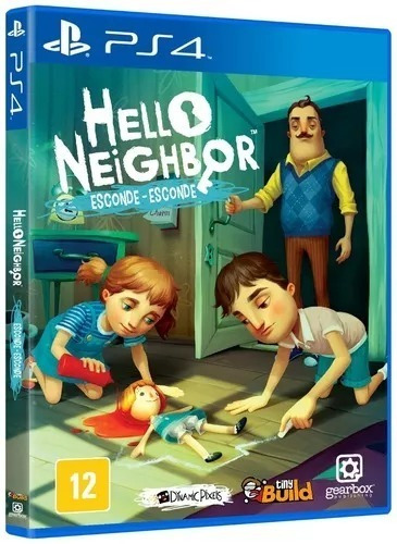 Hello Neighbor Esconde-esconde Ps4 Original Mídia Física