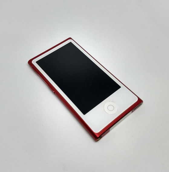 iPod Nano Red 7 16gb Rádio Bluetooth Usado Parcelado - Kf4lp