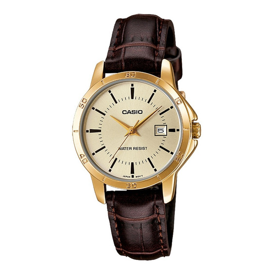 Relógio Analógico Feminino Casio Ltp-v004gl-9audf