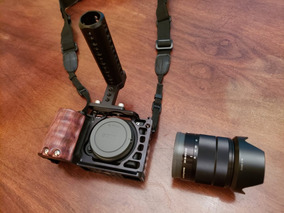 Excelente Câmera Miroless Sony A6500 4k + 18-55mm + Smallrig