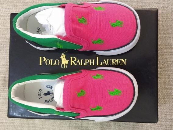 Tênis Polo Ralph Lauren 25