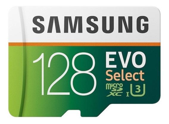 Cartão De Memória Samsung Evo Select Mb-mc128ga/am Sd 128gb