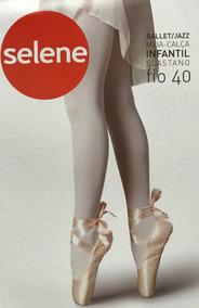 9c0348803 Kit 4 Meia Calça Infantil Fio 40 Ballet Selene Oferta