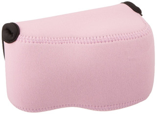 Jjc Oc-s1p Pink Mirrorless Camera Pouch For Sony A6300/a6000