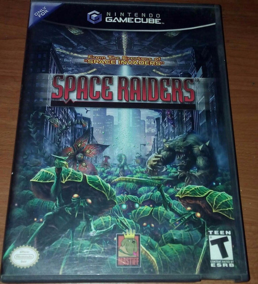Space Raiders Game Cube