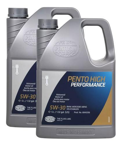 Aceite Motor Fiesta 2009 4 Cil. 1.6l Pentosin 5w-30; 10l