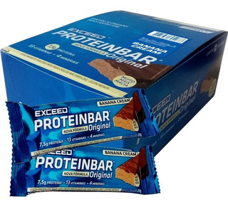 Exceed Protein Bar (20un.x25g) - Exceed