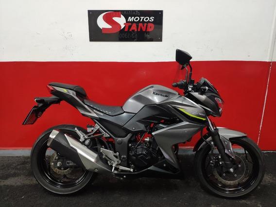 Kawasaki Z 300 Z300 Z-300 2018 Cinza
