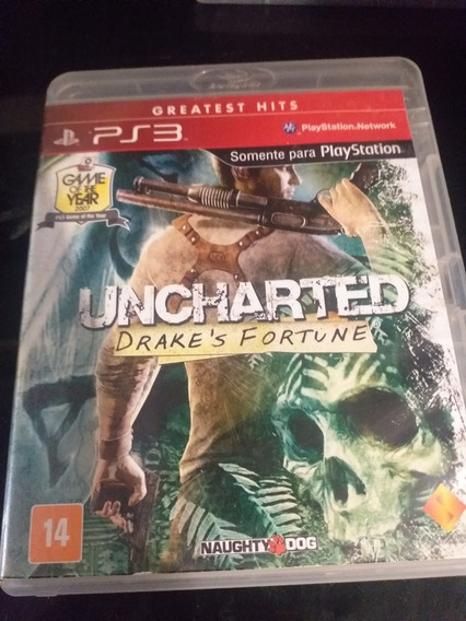 Uncharted 1 Drakes Fortune Ps3 Midia Física