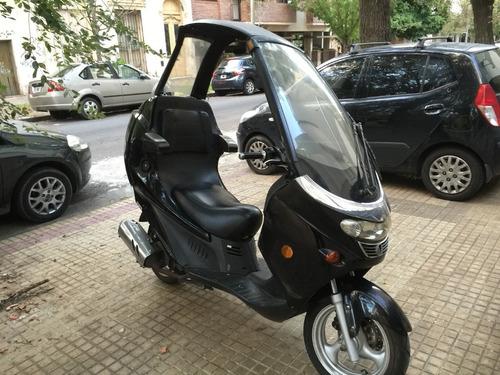 Moto Scooter Lingyun 125 Cc Con Techo ¡¡¡única!!!