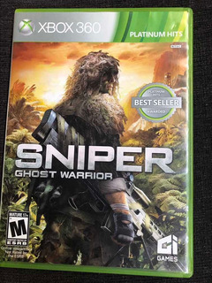 Juego Sniper Ghost Warrior Físico Xbox 360
