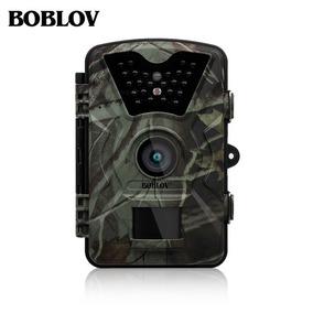 Câmera Trilha Noturna Boblov Animais Hd 12mpz + Sd 32 Gb
