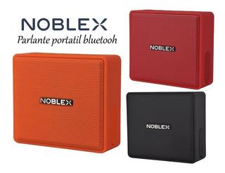 Parlante Bluetooth Noblex Psb100 5w Todos Los Colores