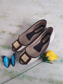 Sapato Feminino Estilo Peep Toe Moleca Confortável + Brinde