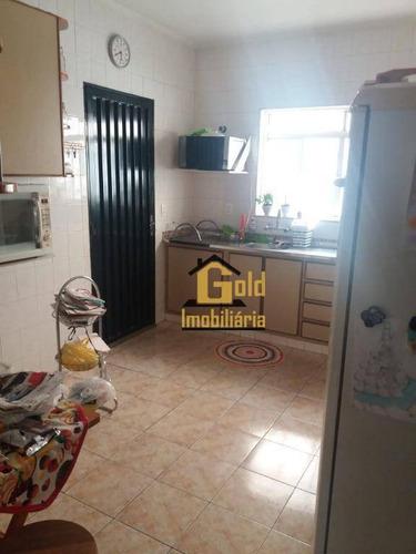 Casa Com 4 Dormitórios Para Alugar, 131 M² Por R$ 2.400/mês - Jardim Califórnia - Ribeirão Preto/sp - Ca0792
