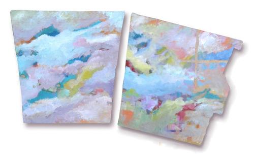 Cuadros Abstractos Modernos - Pintura Arte Expresionista