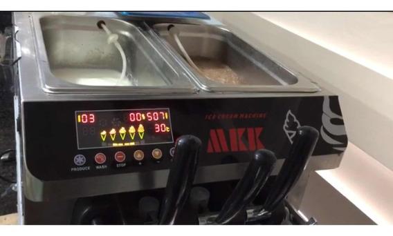 Máquina De Helados Mk-5800 28 Litros Hora Garantía 2 Años