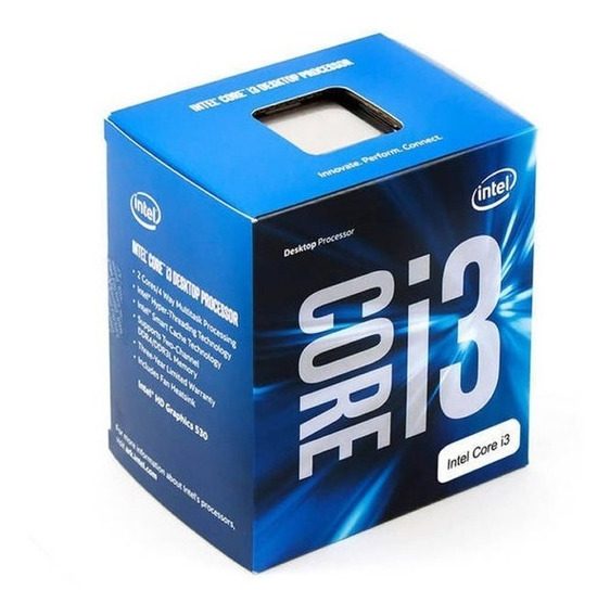 Core I3 7100 Lga Socket 1151 3.90 Ghz Box Na Caixa Kaby Lake
