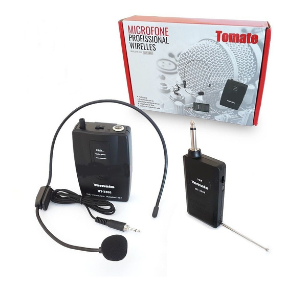 Microfone Headset Mt-2205 (sem Fio) - Tomate