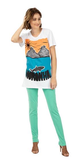Camiseta Mercatto Silk Feminina 46436