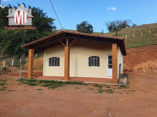 Ótima Chácara Com 1 Dormitório À Venda, 30000 M² Por R$ 450.000 - Rural - Socorro/sp - Ch0727