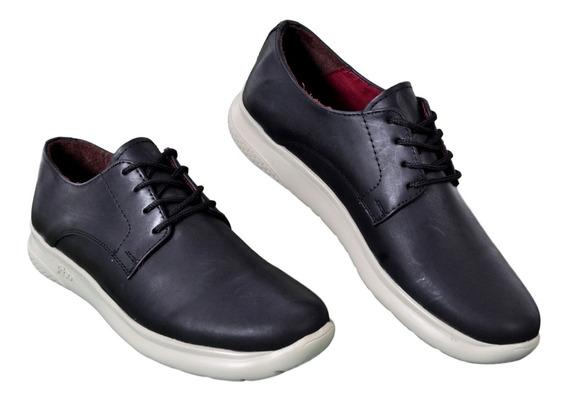 Zapato Vestir Cuero Hombre Campus 7552 Cordón Liviano Cuotas