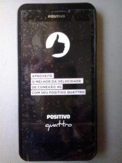 Smartphone Positivo Quattro X435 Preto Dual 4g ( Semi Novo )