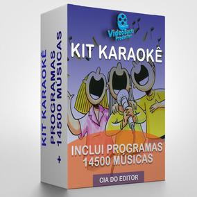 Karaokê Videokê 2 Programas + Pontuação + 14450 Músicas P C