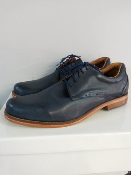 Zapato De Cuero P/ Hombre Johnston, Talles Especiales 47/48