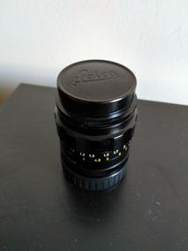 Lente Leica Elmarit-m 90mm F/2.8 Fat Usada Com Tampas