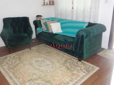 Sobrado Com 2 Dormitórios À Venda, 75 M² Por R$ 320.000 - Jardim Utinga - Santo André/sp - So1014