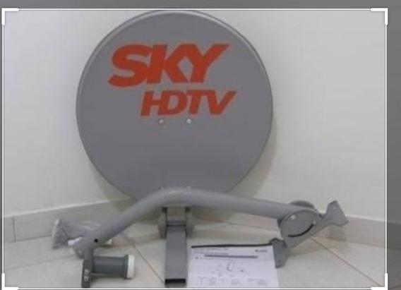 Vendo Antena Com Lnb Duplo