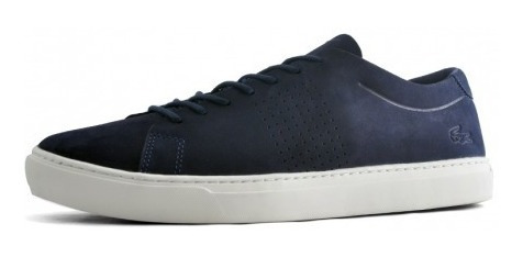 Zapatillas Lacoste Unlined 119 1 Gris 235 Azul J18