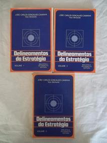 * Livro Delineamentos Da Estratégia Gonçalves Caminha 3 Vols